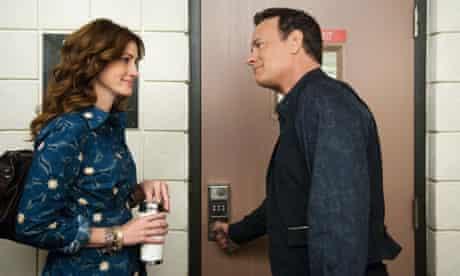 Julia Roberts and Tom Hanks in Larry Crowne