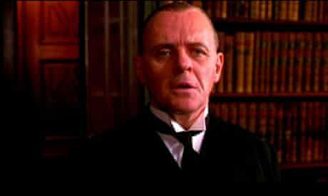 Anthony Hopkins in The Remains of the Day