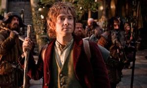 Martin Freeman as Bilbo Baggins in The Hobbit: An Unexpected Journey