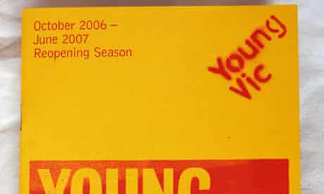 Young Vic theatre programme