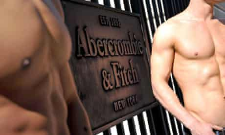 Opening of new Abercrombie and Fitch store in Paris in May 2011