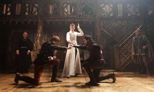 Eddie Redmayne in Richard II at the Donmar