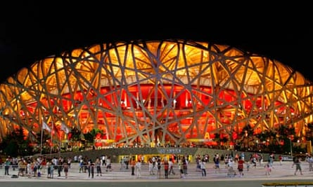 Bird's Nest, National Olympic Stadium, Beijing, China