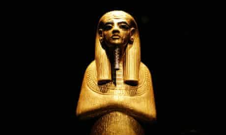 Tutankhamun exhibition at the O2 arena, London