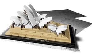 Lego's Sydney Opera House