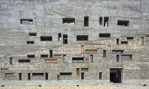Ningbo History Museum designed by Wang Shu