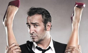 Jean Dujardin poster for Les Infidèles (The Players)