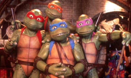 Teenage Mutant Ninja Turtles Film Retreats Back Into Its Shell Teenage Mutant Ninja Turtles The Guardian