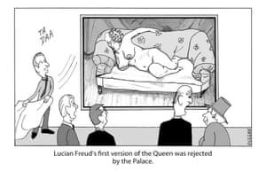 Peter Duggan's Artoons: Lucian Freud