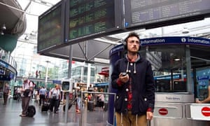Lavinia Greenlaw's Audio Obscura at Manchester Piccadilly station