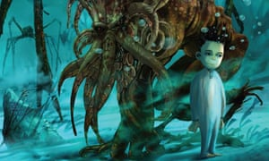 illustration from Howard Lovecraft and the Undersea Kingdom