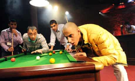 Snookered by Ishy Din at the Bush Theatre