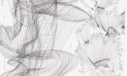 detail from Jorinde Voigt's STAAT Random V, 2008, Serie von 11 Diptychen