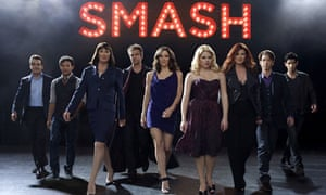 The cast of Smash