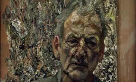 Lucian Freud's Self Portrait, Reflection