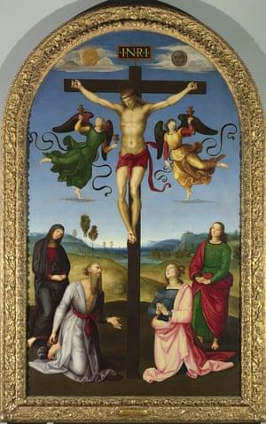 Raphael's The Mond Crucifixion