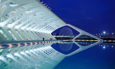 City of the Arts and Sciences in Valencia, Spain