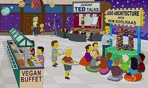 Rem Koolhaas on The Simpsons
