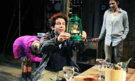 Elliot Levey (Rory) in Canvas by Michael Wynne at Minerva Theatre, Chichester