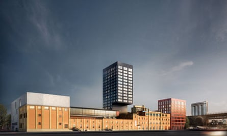 Kunsthalle Zurich building in Switzerland