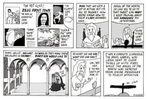 Peter Duggan's Artoon: The Annunciation