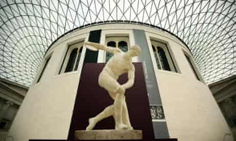 The Townley Discobolus at the British Museum