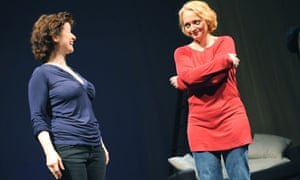Angela Clerkin and Stella Duffy in Lifegame at Lyric Theatre