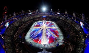 Damien Hirst artwork, Olympic Games closing ceremony