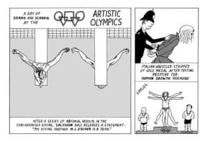 Peter Duggan's Artoons: the Artistic Olympics