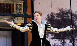 Janie Dee in All's Well That Ends Well at  Shakespeare's Globe