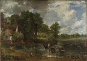 John Constable's The Hay Wain, 1821