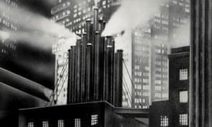 Factory chimneys, Metropolis
