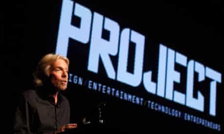 Richard Branson, Project launch
