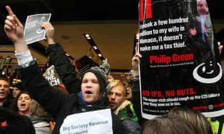 UK Uncut BHS protest