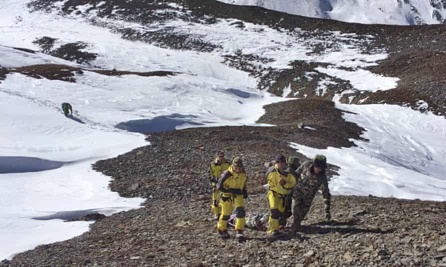Nepalese rescue 16 October 2014