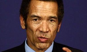 Ian Khama, Botswana president
