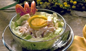 Prawn cocktail dish