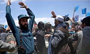 Rally for Afghan presidential candidate Abdullah Abdullah