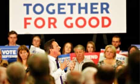 David Cameron at Perth union rally