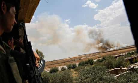 Mortar strike by Islamic State, Mosul, July 2014