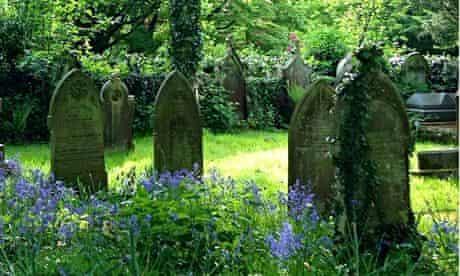 UK graveyard