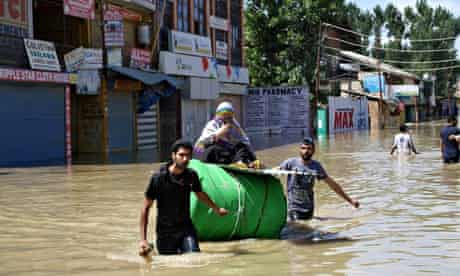 Flooding in Srinagar