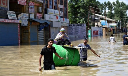 Flooding in Srinagar