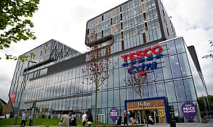 Woolwich's new Tesco store