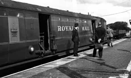 Royal Mail train in Great Train Robbery