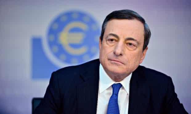 Mario Draghi, president of European Central Bank