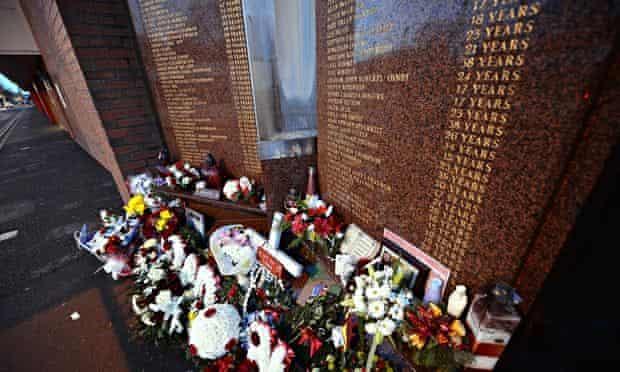 The Hillsborough memorial, Anfield