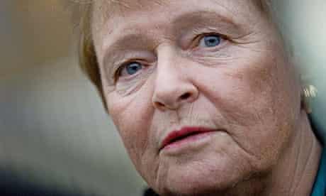 Gro Harlem Brundtland, who was the original target of Anders Behring Breivik