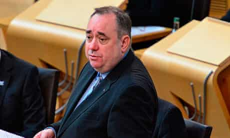 Alex Salmond faces questions over the Leveson inquiry's revelations in Scottish Parliament