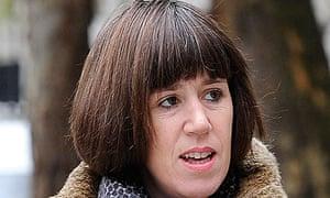 Carina Trimingham, partner of former cabinet minister Chris Huhne arrives at High Court in London